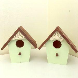 Decorative Miniature Birdhouses